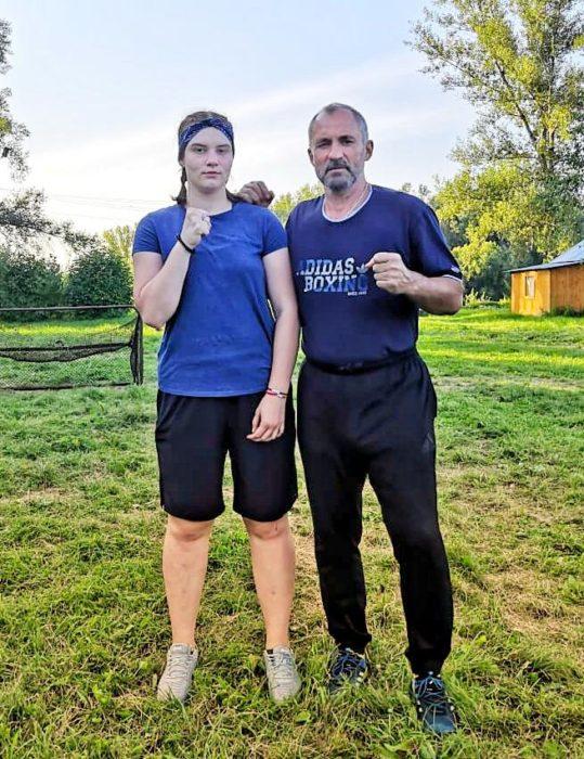 Екатерина Ячменёва принимает участие в тренировочных мероприятиях.