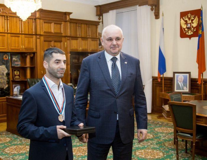 Михаил Алоян на приеме у губернатора Кузбасса