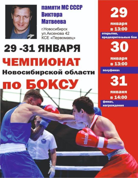 Чемпионат Новосибирской области по боксу