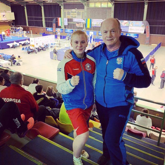 Екатерина Дынник в полуфинале международных соревнований