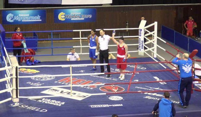 Первая победа кузбасской спортсменки на международном турнире