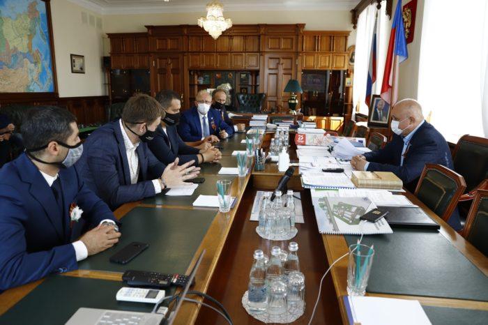 Умар Назарович Кремлёв посетил Кемерово