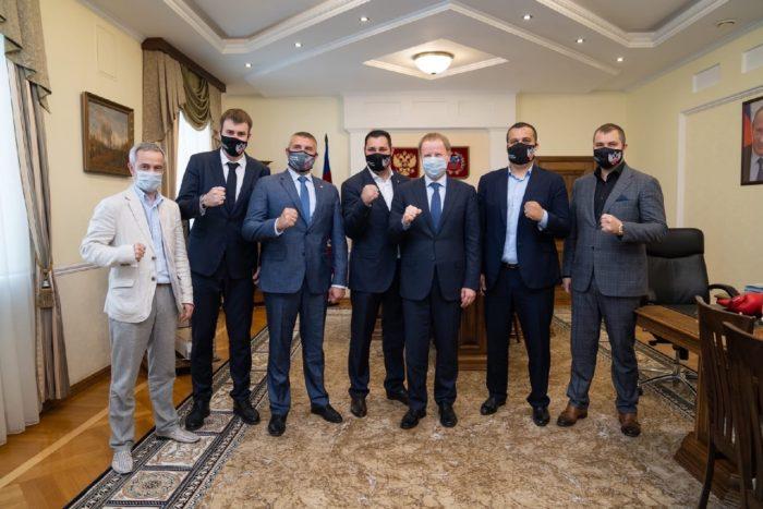 Умар Кремлёв встретился с губернатором Алтайского края