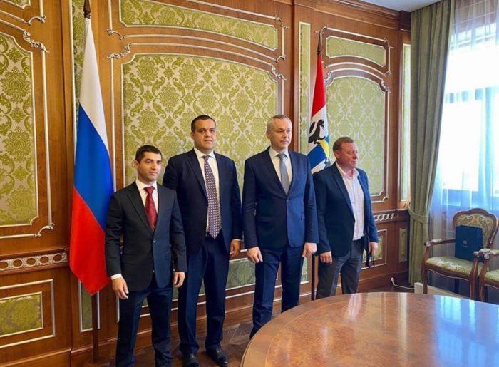 Умар Кремлёв с рабочим визитом посетил Новосибирск